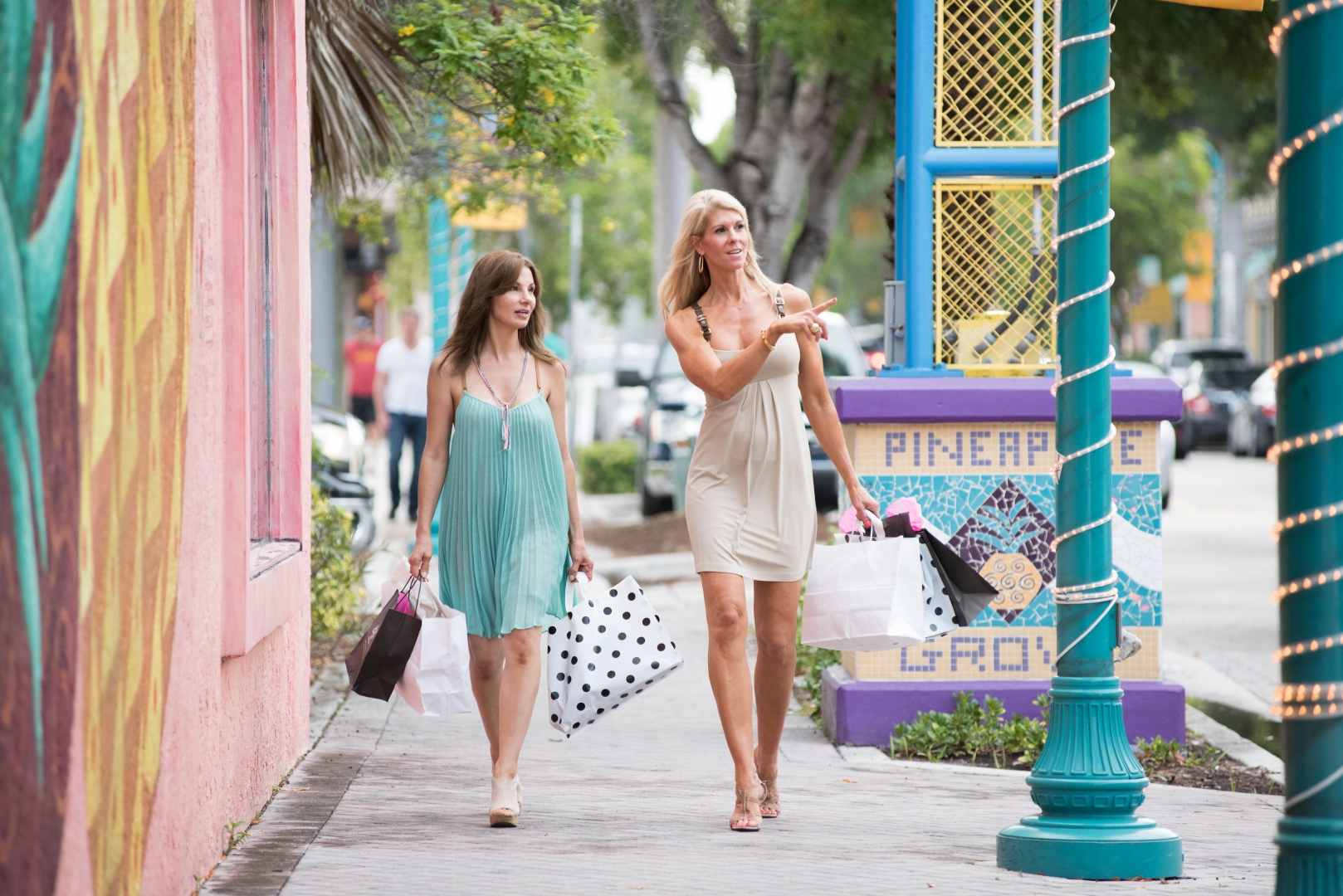 Pineapple Grove Arts District Downtown Delray Beach