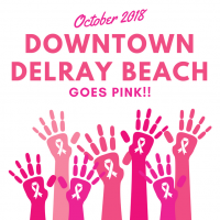 Downtown Goes Pink For Breast Cancer Awareness Month
