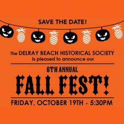 The Delray Beach Historical Society Fall Fest