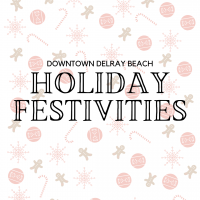 Holiday Festivities in Downtown Delray Beach