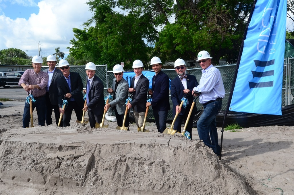 Sofa Partners Celebrate Breaking Ground At 111 First