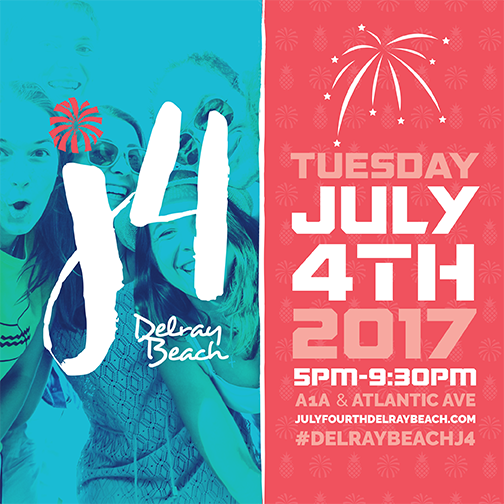 Delray Beachs 4th Of July Celebration Downtown Delray Beach
