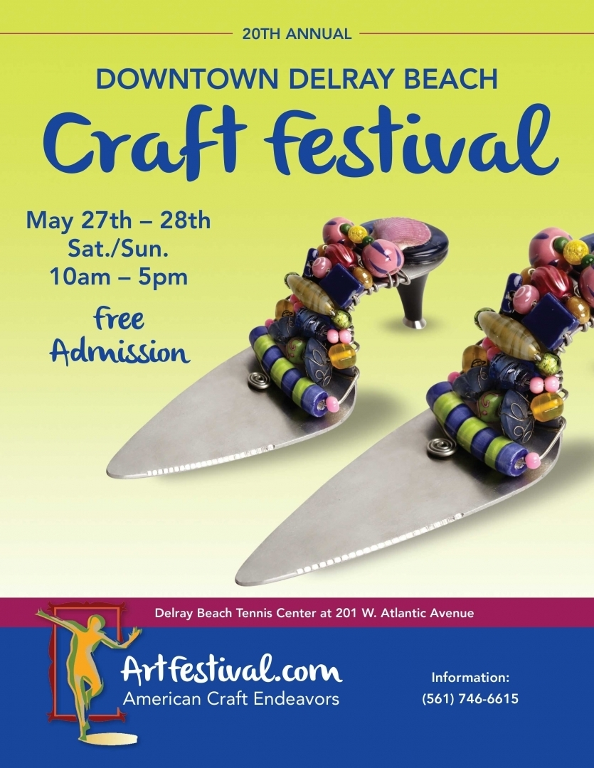Downtown Delray Beach Craft Festival