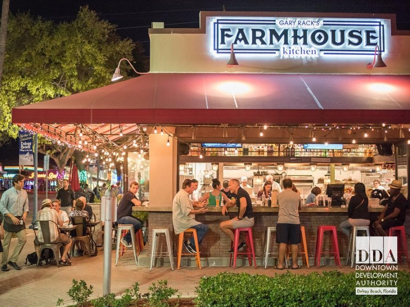 Dining Downtown Downtown Delray Beach