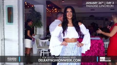 Delray Beach Fashion Week 2018 - Resort Wear Lunchon