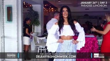 Delray Beach Fashion Week 2018 - Resort Wear Lunchon