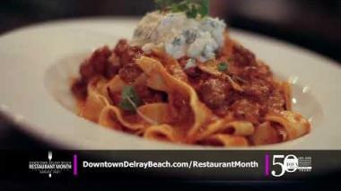 Downtown Delray Beach Restaurant Month 2021
