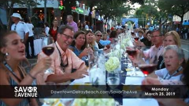Savor the Avenue 2019 Promo | Downtown Delray Beach
