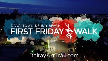 Delray Beach First Friday Art Walk 2021