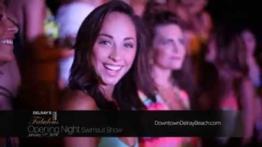 Delray's Fabulous Fashion Week 2014 - Opening Night Swimsuit Show