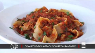 Dine Out Downtown Delray Restaurant Week 2018: Caffe Luna Rosa