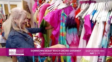 Downtown Delray Beach Orchid Giveaway | Downtown Delray Beach