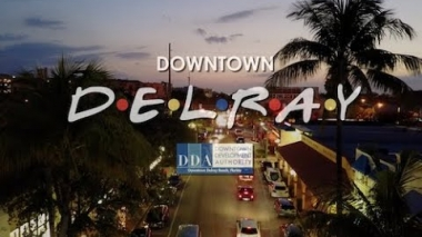 The One Where Downtown Delray is There For You!