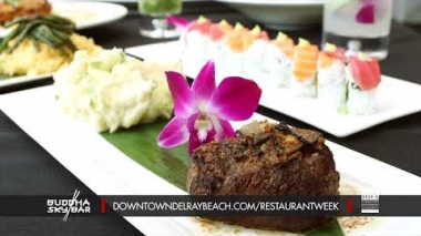 Dine Out Downtown Delray Restaurant Week 2018: Buddha Sky Bar