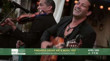 Pineapple Grove Art & Music Fest 2019 Promo | Downtown Delray Beach