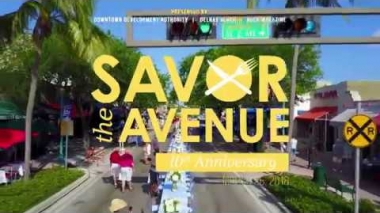 Savor the Avenue -- Downtown Delray Beach, 10th Anniversary