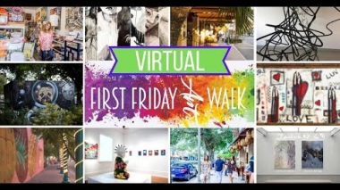Delray Beach First Friday Virtual Art Walk - August Edition