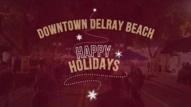Happy Holidays 2019 | Downtown Delray Beach