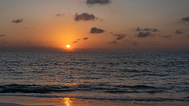 Sunrise at Delray Beach